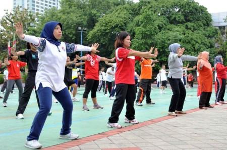 olahraga rutin