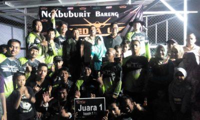 Foto bersama anggota club DAC dengan pengurus FASI dan Perwakilan KONI