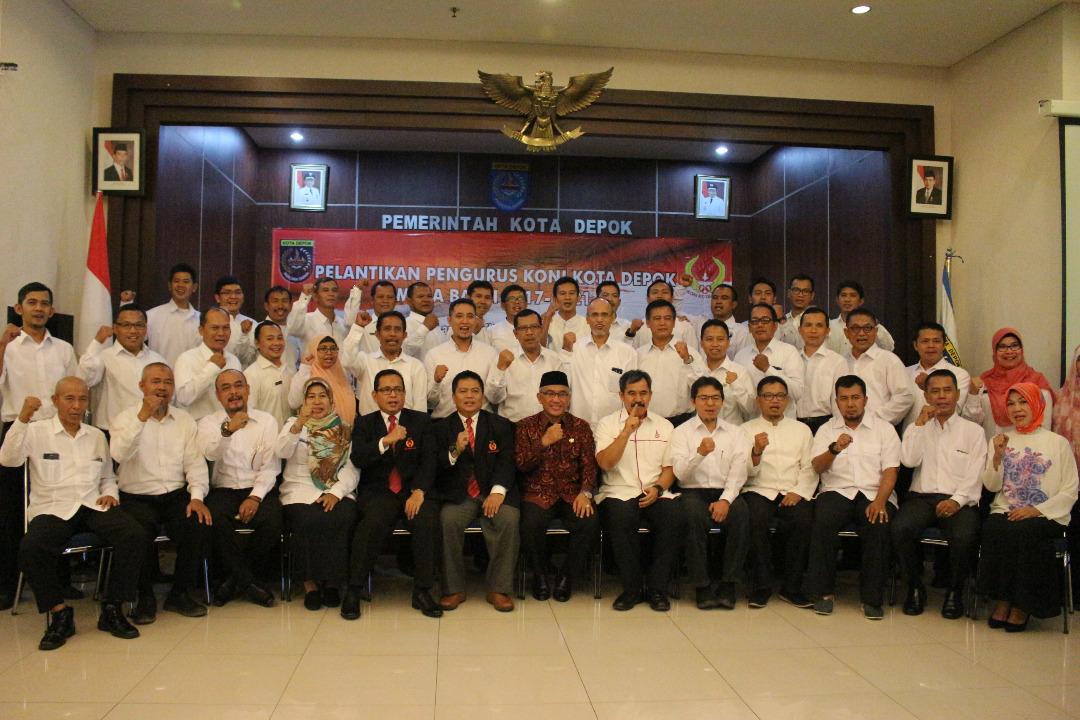 pengurus koni-depok 2012-1016