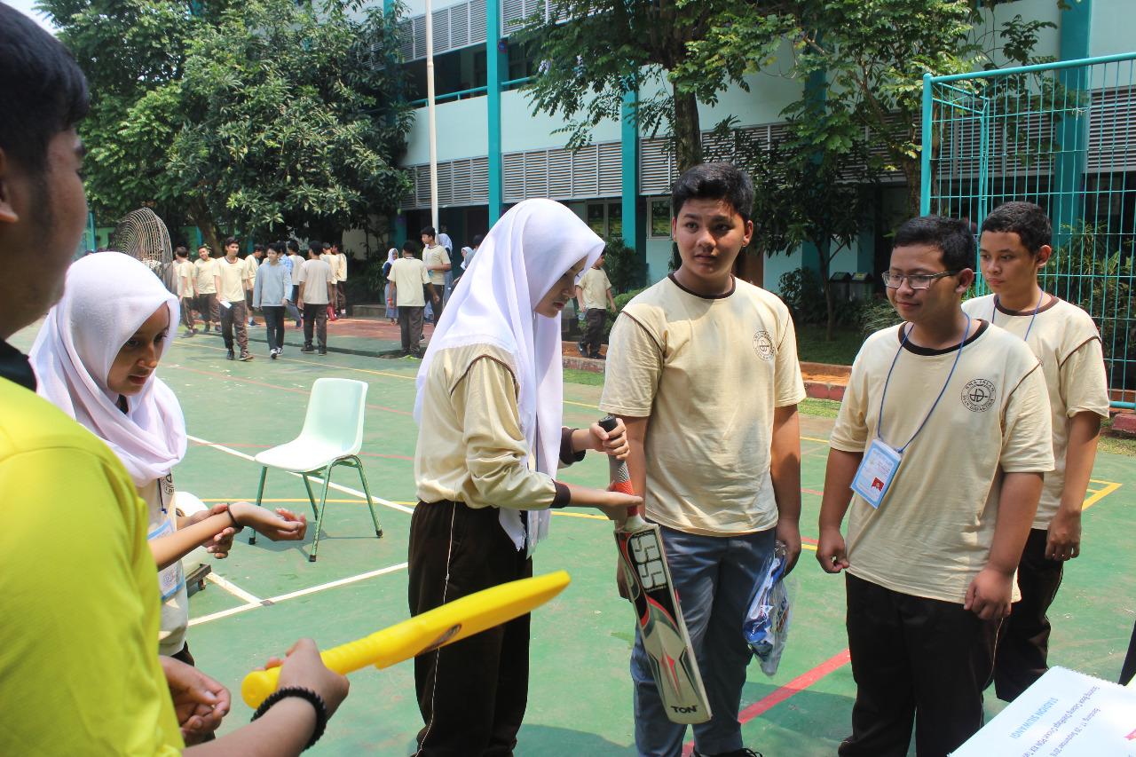 Antusiasme siswa mengikuti kegiatan sosialisasi