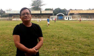 Pepen Rubianto Pelatih tim  Sepakbola Porda XIII/2018