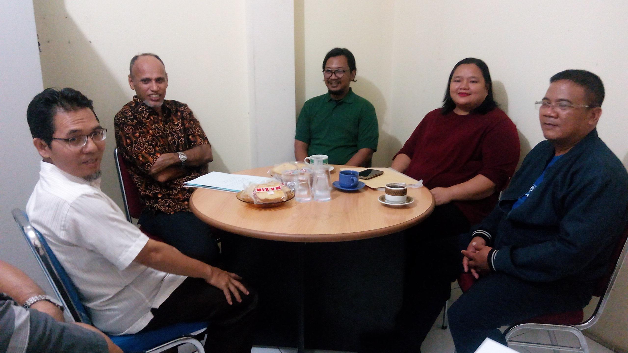 PDBI Kota Depok Audensi Dengan Pengurus KONI Kota Depok