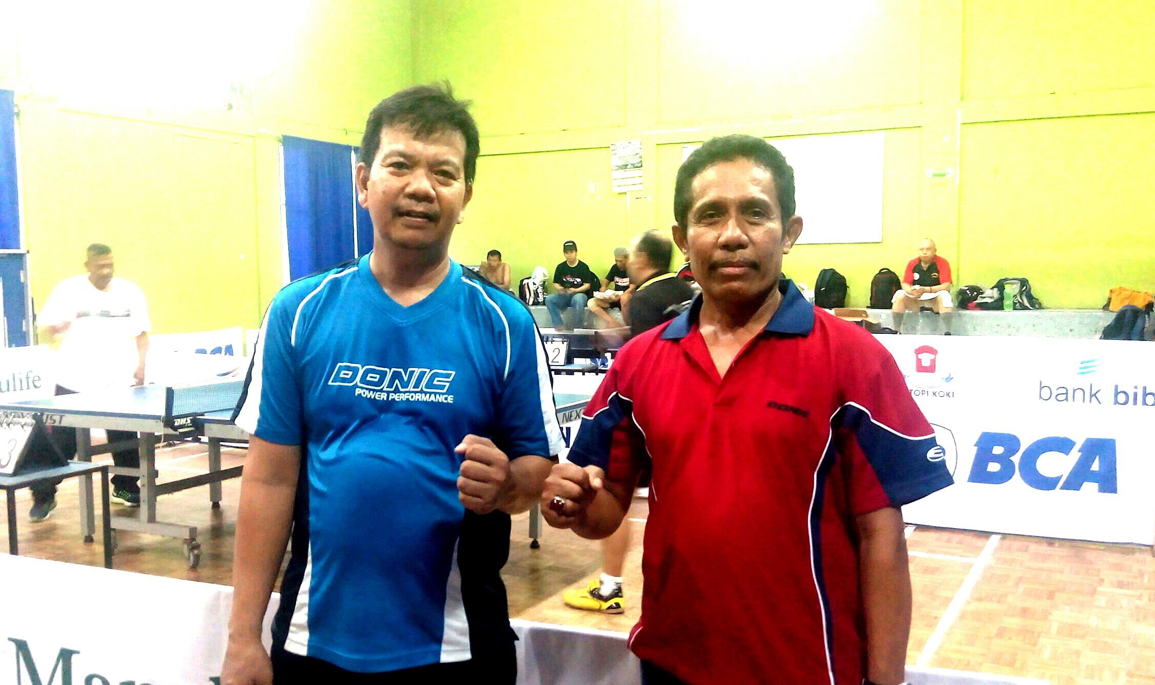 Ketua Panitia (kiri)Beserta Annur MD Ketua Club Andika (kanan)