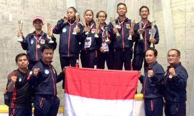 Tim Karate Indonesia pada kejuaraan The 7th Basel Open Master