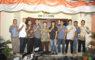 Panitia Diana Jaya Cup foto bersama para pengurus KONI Kota Depok