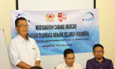 Nuryadi ketua terpilih PRSI periode 2017-2021