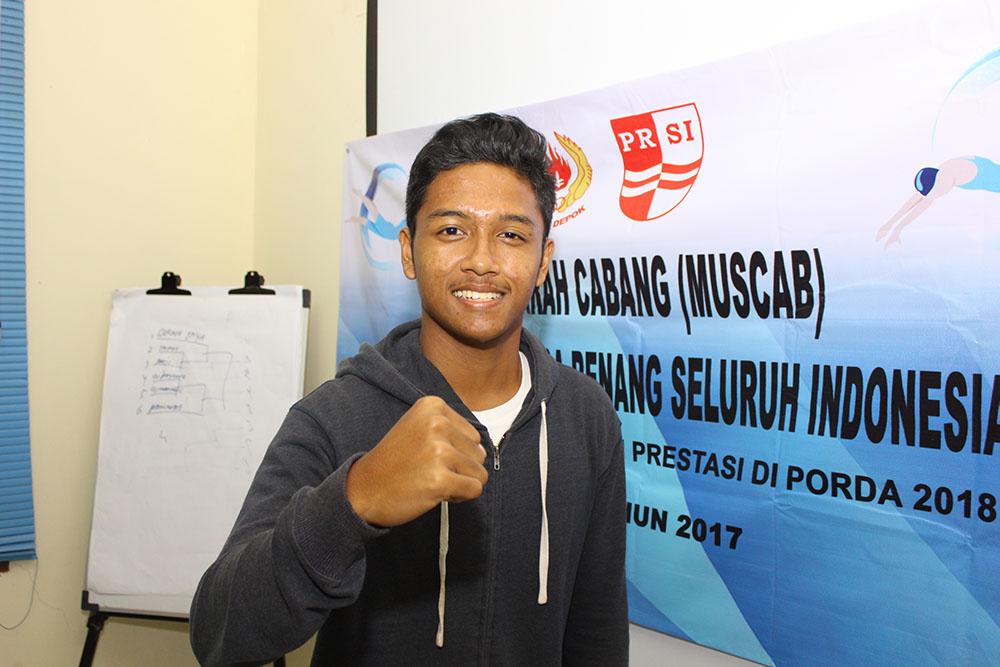 Iqbal Atlet Renang Kota Depok