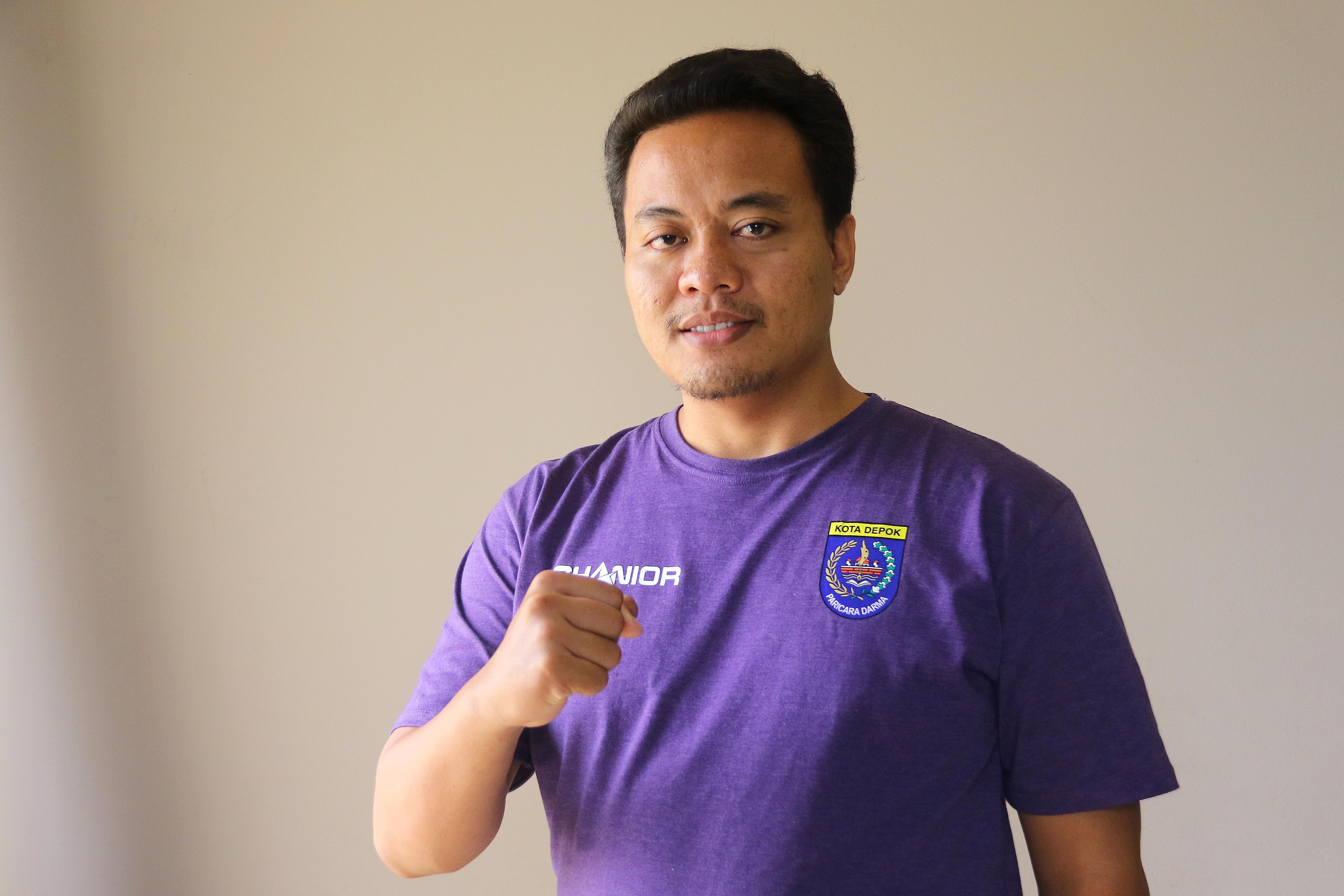 Lukman Hakim Manager Futsal Putri Kota Depok