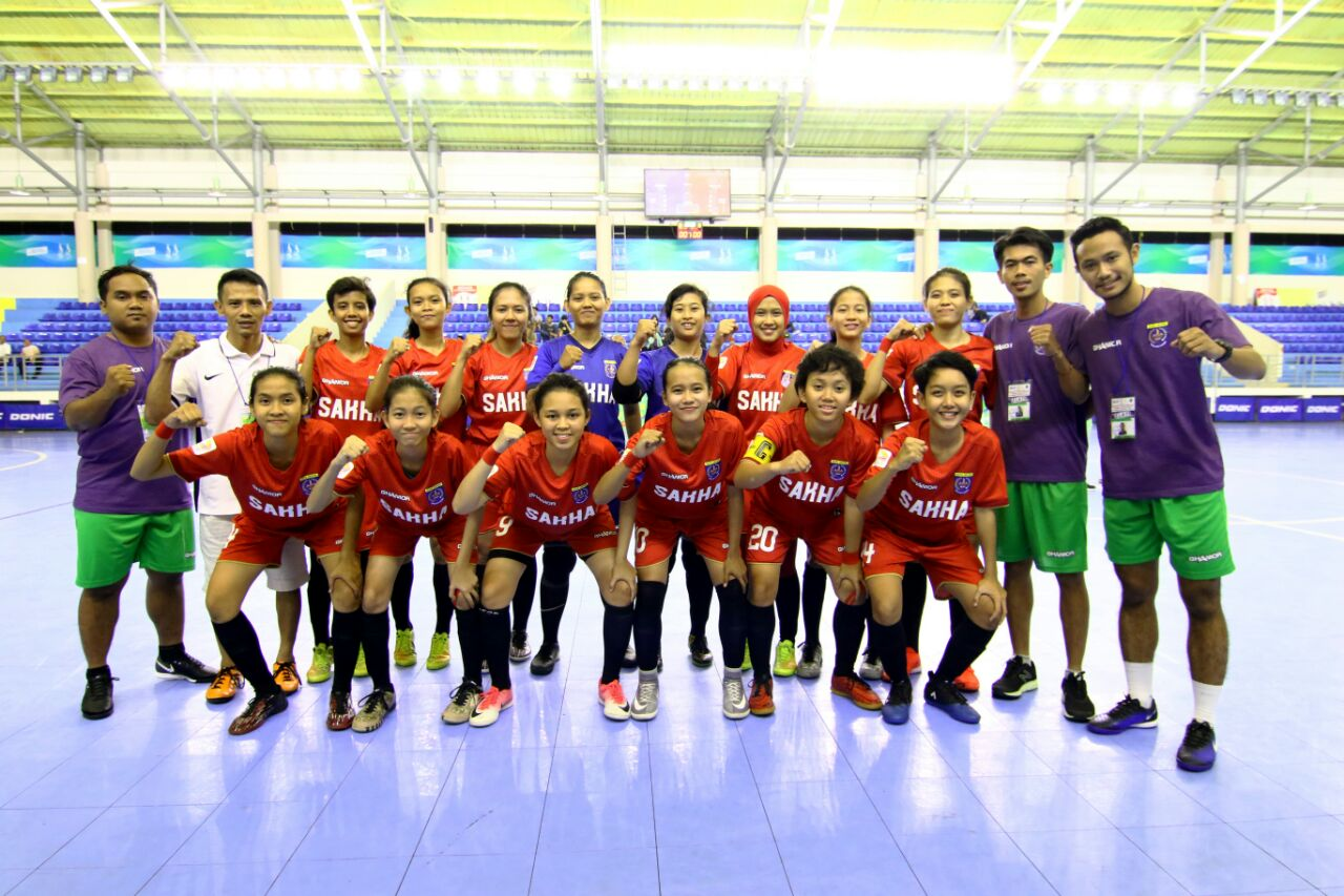 Tim Futsal Putri Kota Depok