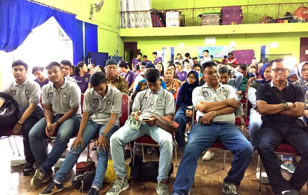 Para Atlet Futsal yang akan berangkat pada BK Porda
