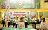 Tim drumband kota Depok saat melaksanakan lomba Drum Corps
