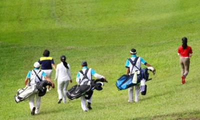 Kontur tanah lapangan golf Heritage Dago Bandung yang berbukit