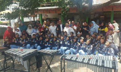 Ketua KONI Lepas Tim Drum Band BK Porda Jawa barat