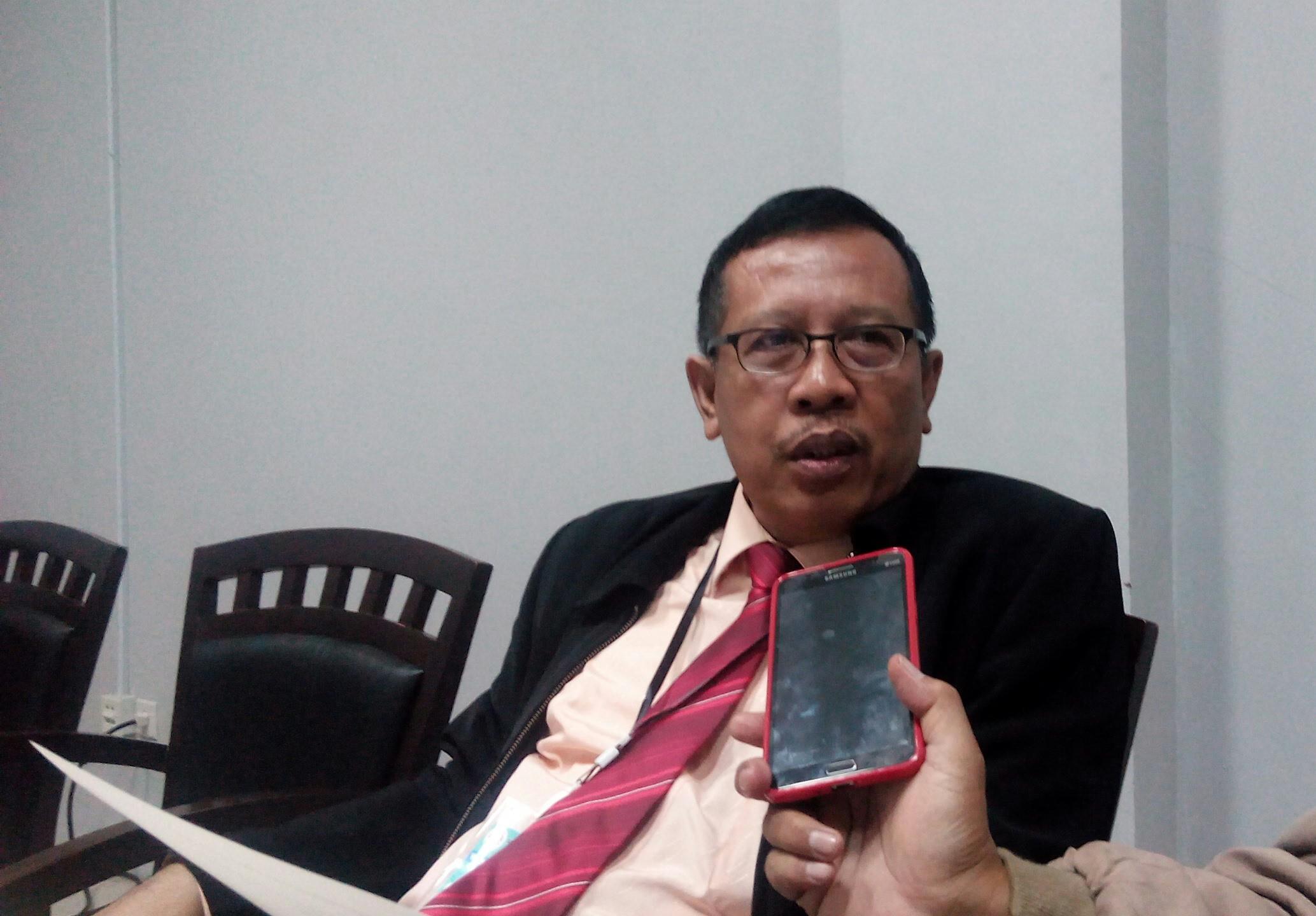 Agus Subandrijo memberikan pengalamannya untuk keberhasilan pembinaan Atlet catur kota Depok
