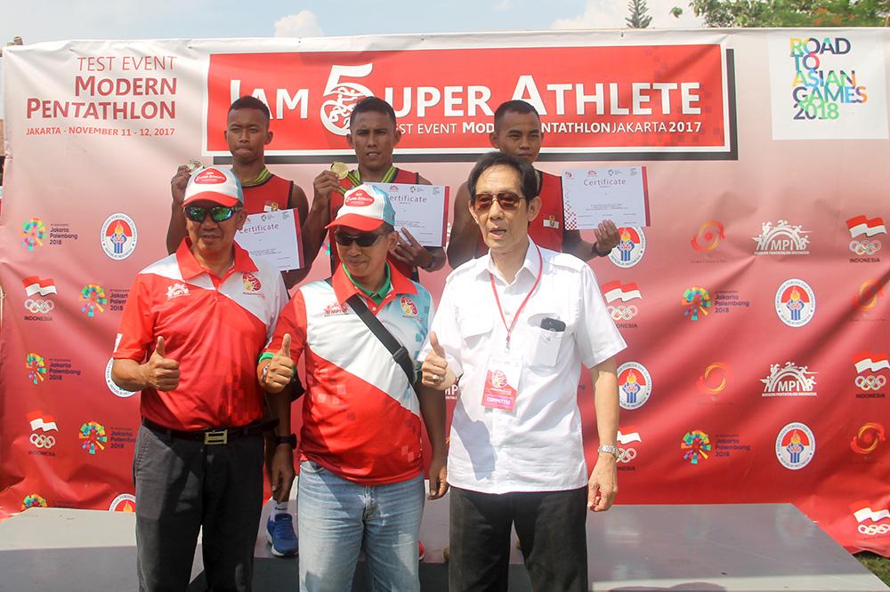 Tes Event Cabang Modern Pentathlon yang diadakan di Artayasa Kota Depok