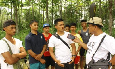 Roni Pelatih Dayung saat bersama tim humas KONI Kota Depok