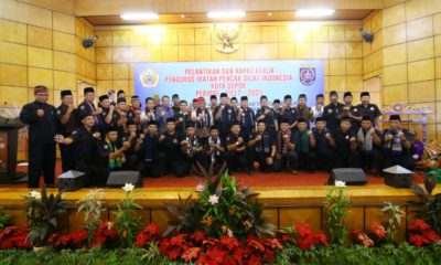 Pelantikan pengurus IPSI kota Depok periode 2017-2021 dihadiri oleh ketua KONI dan walikota Depok