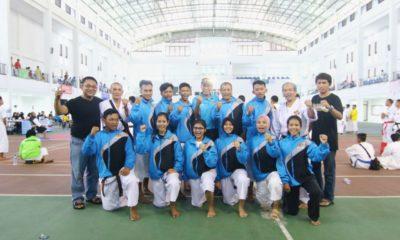 Tim Kempo BK Porda Foto Bersama Pengurus KONI Kota Depok di Sport Hall IPSC Sentul Bogor
