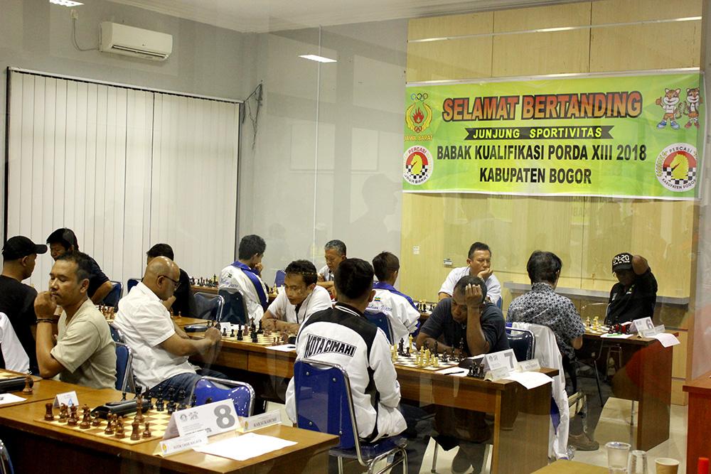 Pertandingan Catur BK Porda Jawa Barat
