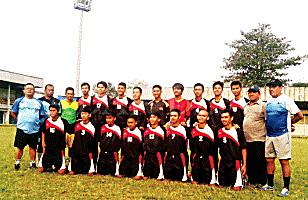 Tim sepakbola BK Porda 2017