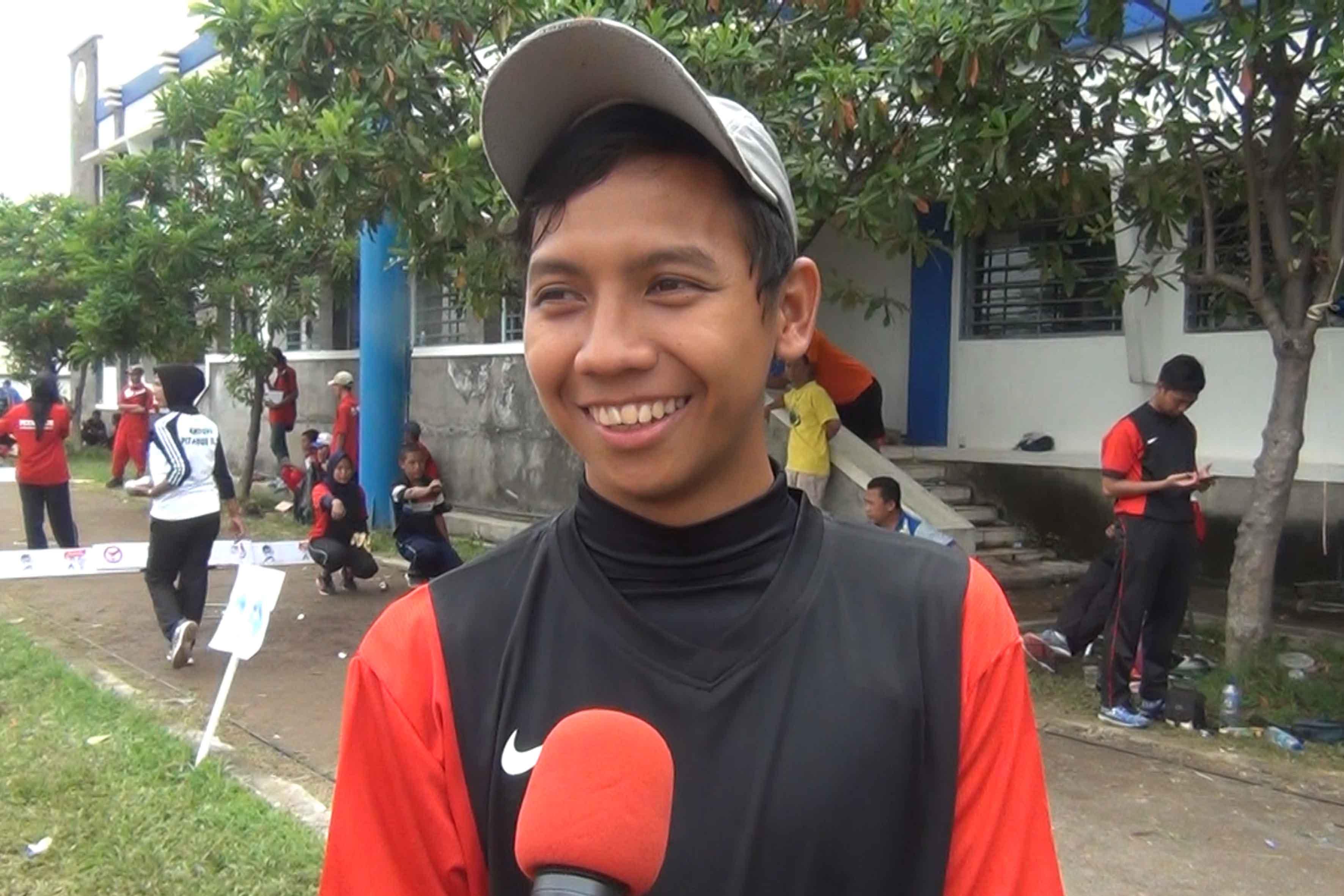 Anom Firmansya - Atlet Petanque Depok