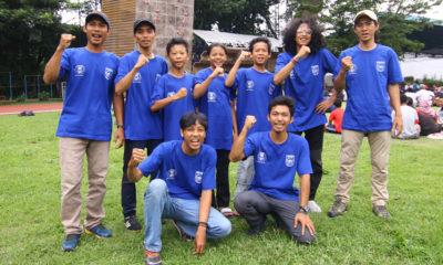 Atlet-atlet Panjat Tebing Kota Depok
