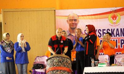Ketua Pengprov Wushu Jabar Edwin Sanjaya secara resmi membuka pertandingan BK Porda di Gor seni & budaya Kab. Bogor Jawa Barat