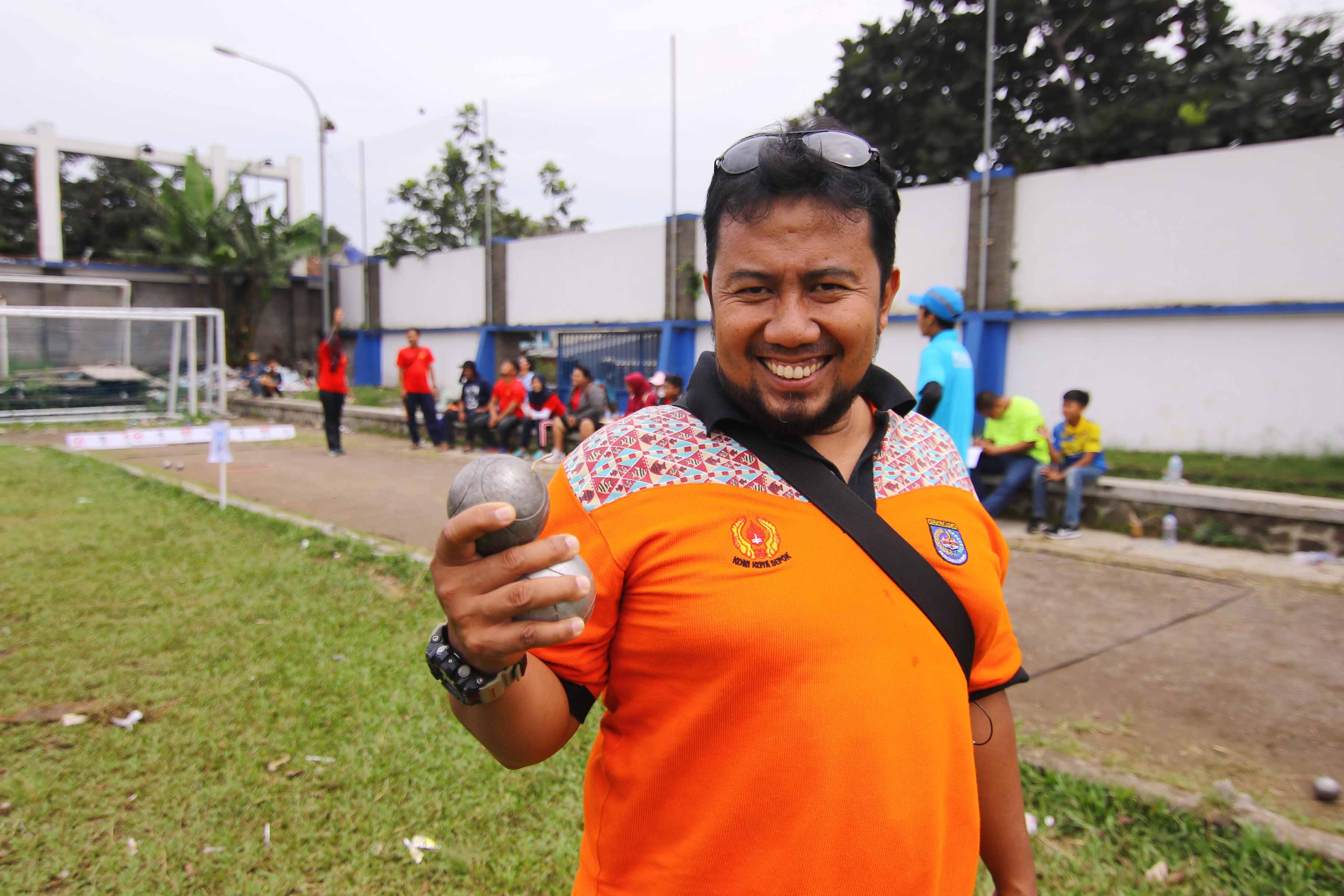 Yasep, Pelatih Petanque Kota Depok