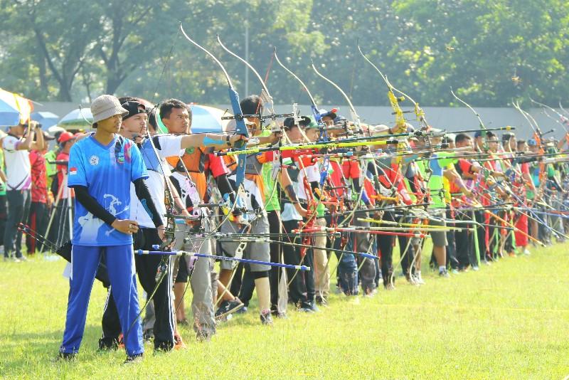 Panahan Kota Bandung Optimistis Pertahankan Juara Umum di Porda Jabar XIII