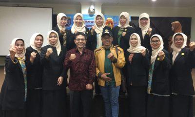 Ketua KONI Foto bersama usai menghadiri pelantikan ketua pengurus perwosi periode 2017-2021
