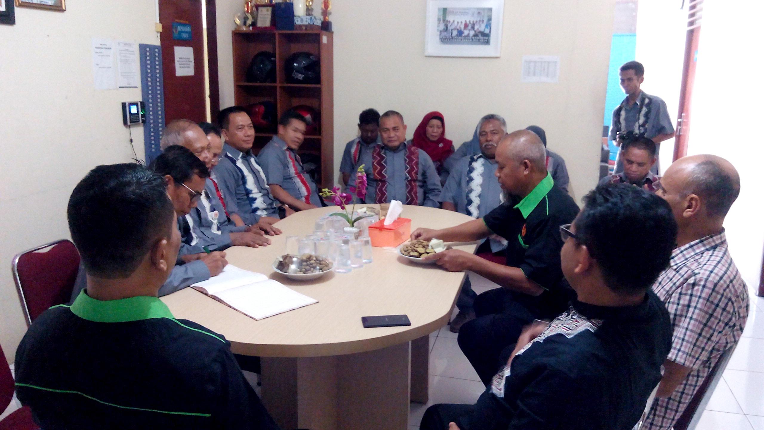 Kunjungan KONI Kab. Banjar Provinsi Kalimantan Selatanke Kantor KONI Kota Depok