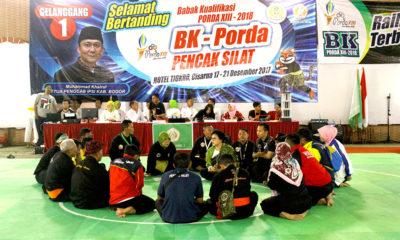 Para Tim Manager berkumpul berembuk untuk mensosialisasikan peraturan sebelum melaksanakan pertandingan