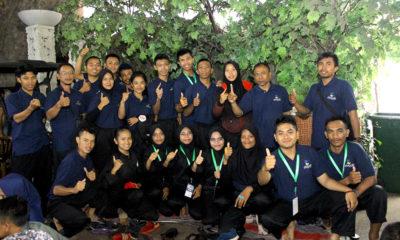 Tim Pencak Silat Kota Depok yang mengikuti Babak Kualifikasi Porda Jabar tahun 2017