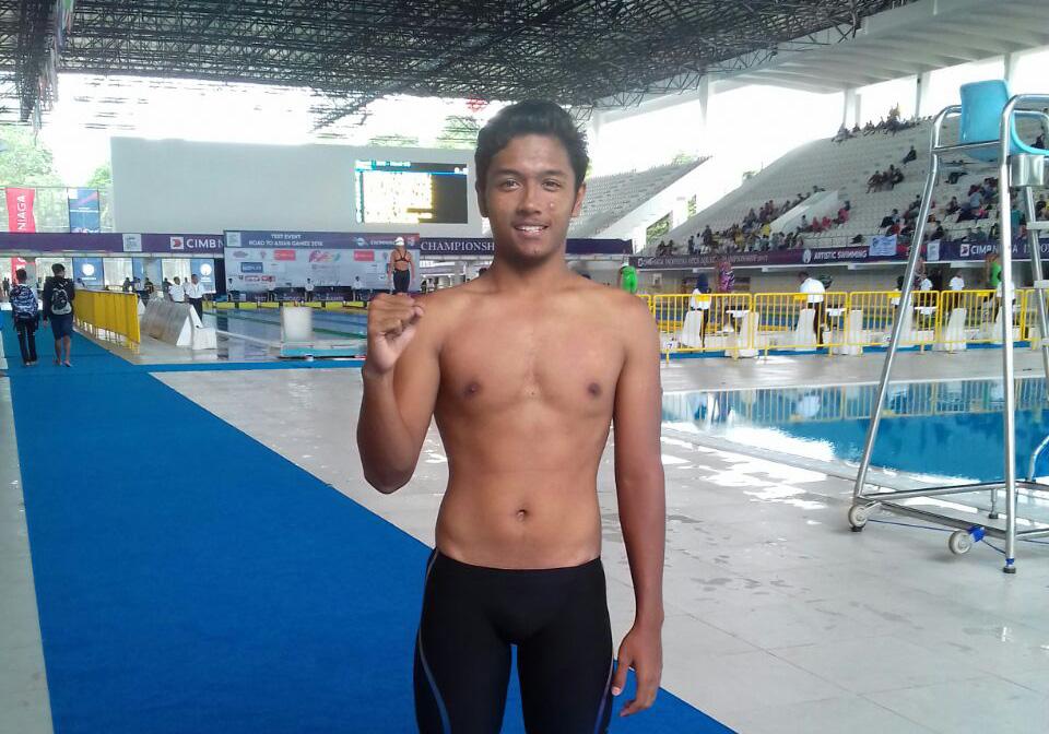 Iqbal Ikuti Kejuaraan Bergengsi Indonesian Open Aquatic Championship 2017