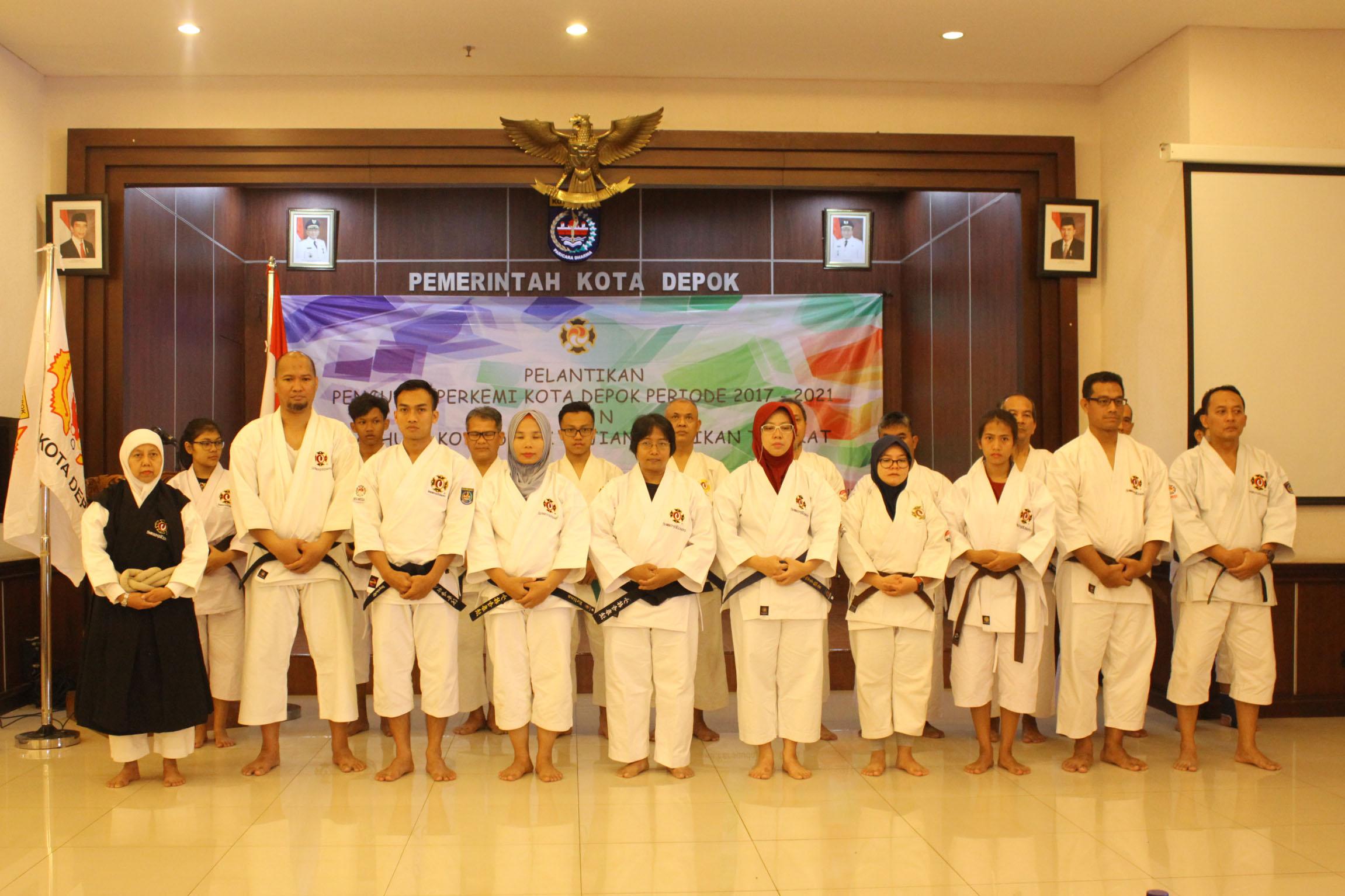 foto para pengurus Perkemi periode 2017-2021