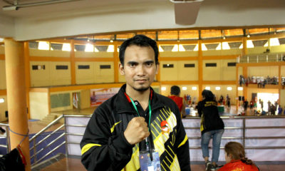 Reza Baizuri Tim Manager BK Wushu kota Depok