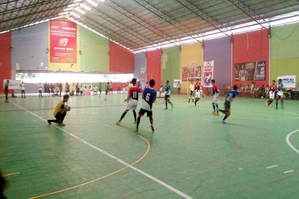 Sambut Hari Sumpah Pemuda Kelurahan Mampang Gelar Turnamen Futsal