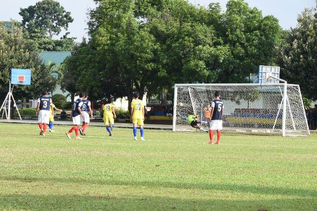 Gol yang di ciptakan pemain Kota Depok saat pertandingan BK Porda