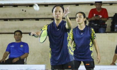 Syifa dan Amira Atlet Bulu tangkis Kota Depok untuk Nomor Ganda Putri
