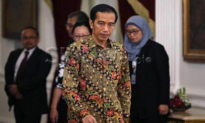 Presiden Joko Widodo memimpin Rapat Terbatas (Ratas) membahas persiapan Asian Games 2018 di Istana Kepresidenan Bogor, Jawa Barat, Selasa (21/11/2017). Foto: Dok SINDOnews