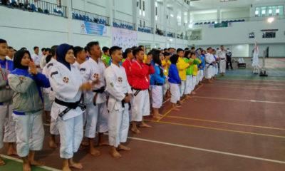 Suasana penutupan babak kualifikasi porda yang diadakan di IPSC Sentul Bogor Jawabarat