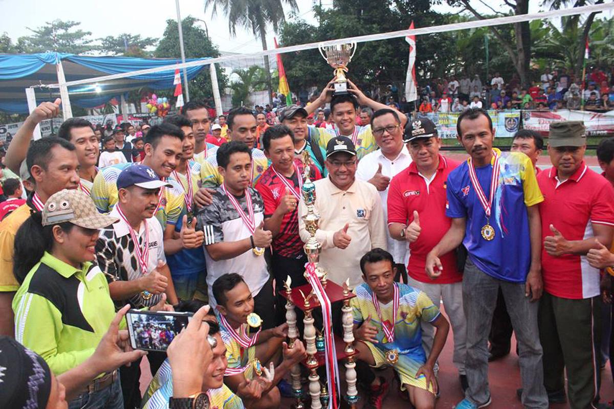 Walikota Depok hadiri final kejuaraan turnamen bola voli