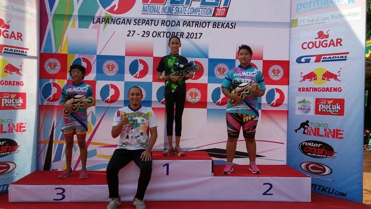Atlet Kota Depok Raih Prestasi di kejuaraan sepatu Roda yang diadakan di  Stadion Patriot Kota Bekasi aaf82bceeb
