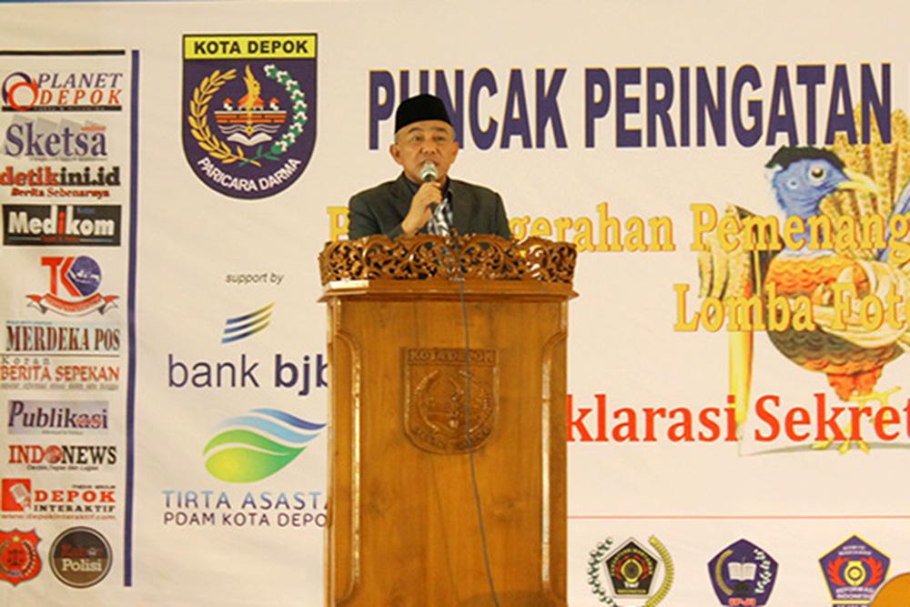 Puncak Hari Pers Walikota Akan Bangun Gedung PWI