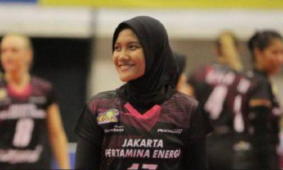 Pemain Proliga Jakarta Pertamina Energi, Nandita Ayu Salsabila, (instagram/@nanditaayu17)