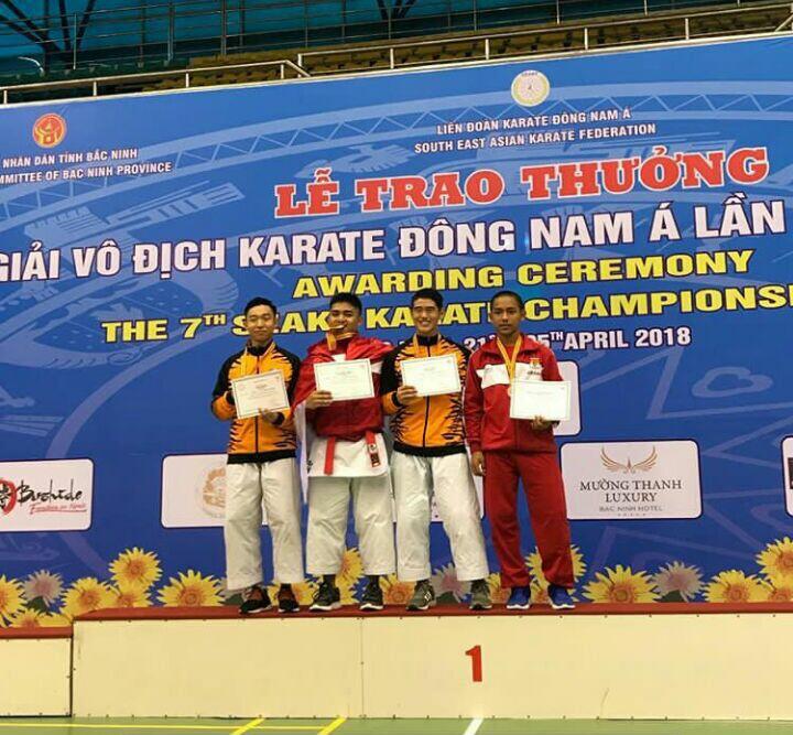 Karateka Depok Raih Perunggu di Ajang SEAKF Vietnam