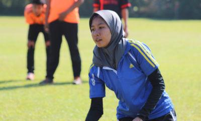 Para Atlet Kota Depok yang berlatih di pasir kalong megamendung Bogor
