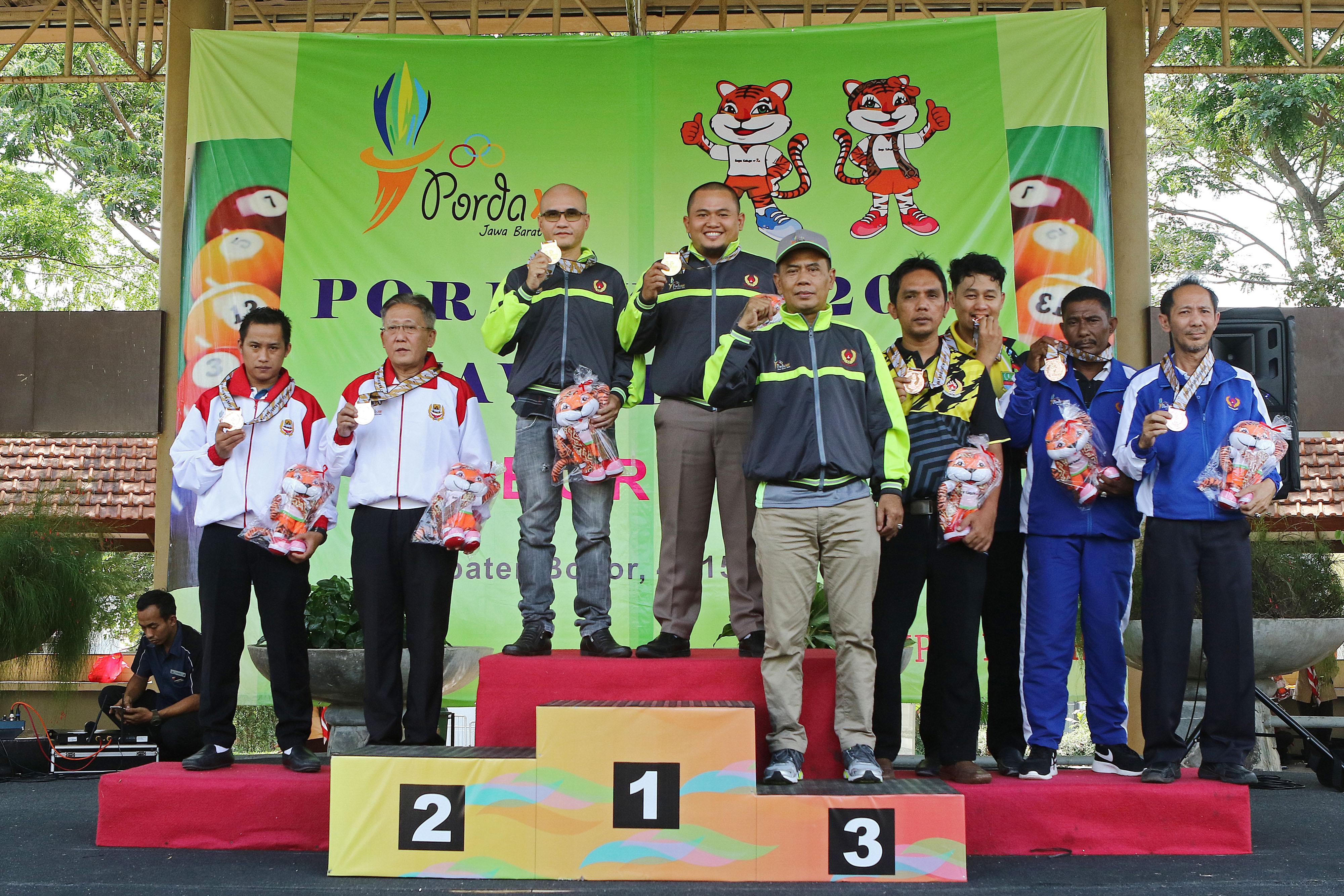 Niat Mulia Biliar Ingin Kembali Sumbang Medali Untuk Kota Depok