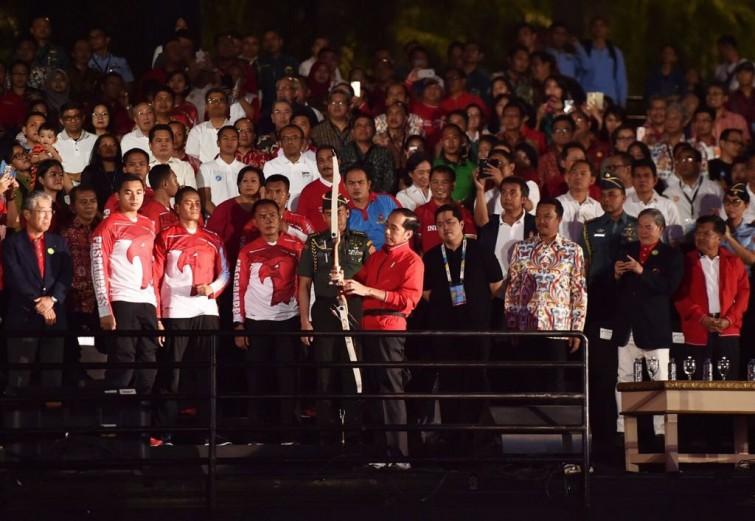 Jokowi di Asian Games