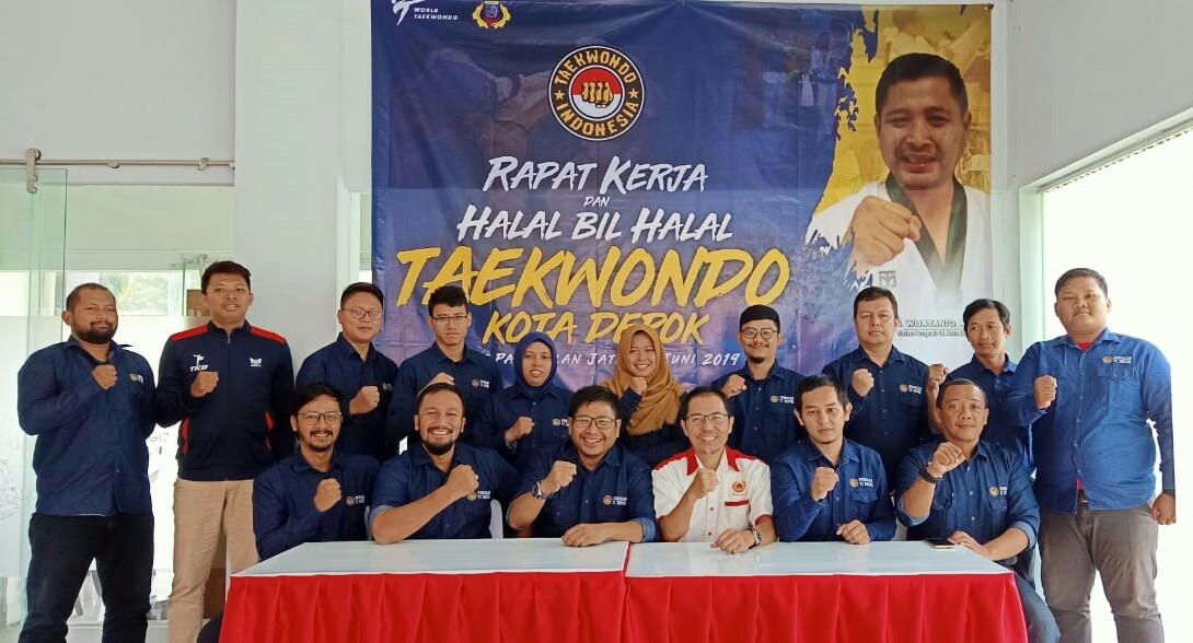 Ketua KONI kota Depok Hadiri Halal bi Halal Pengcab TI